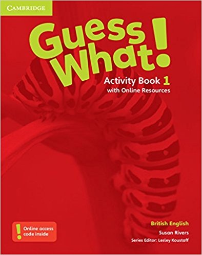 Guess What! 1 Activity Book with Online resource transformers a fight with underbite activity book level 4