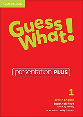 Guess What! 1 Presentation Plus DVD-ROM cambridge english empower starter presentation plus dvd rom