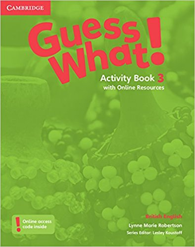 Guess What! 3 Activity Book with Online resource transformers a fight with underbite activity book level 4