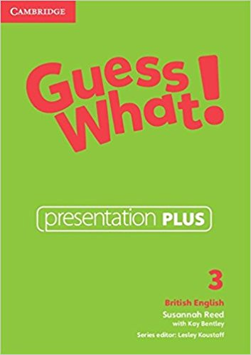 Guess What! 3 Presentation Plus DVD-ROM cambridge english empower starter presentation plus dvd rom