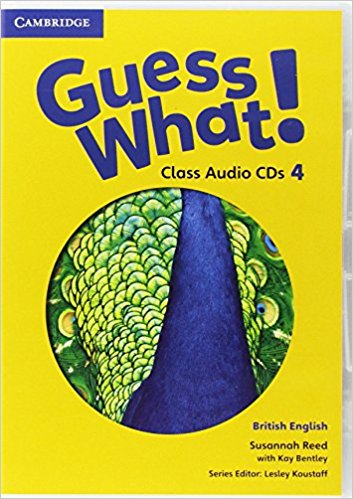 Guess What! 4 Class Audio CDs guess what 6 class audio cds