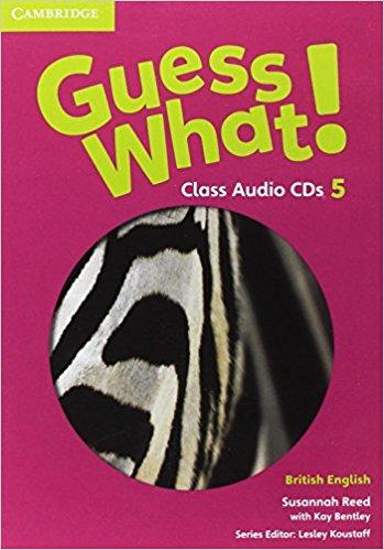 Guess What! 5 Class Audio CDs guess what 6 class audio cds
