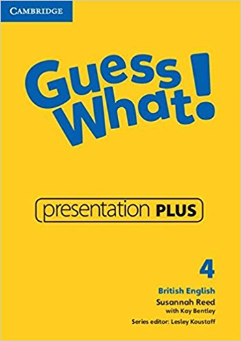 Guess What! 4 Presentation Plus DVD-ROM cambridge english empower starter presentation plus dvd rom