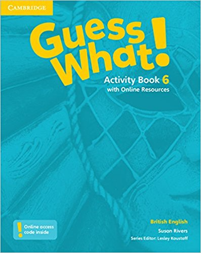 Guess What! 6 Activity Book with Online resource transformers a fight with underbite activity book level 4