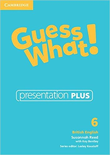 Guess What! 6 Presentation Plus DVD-ROM cambridge english empower starter presentation plus dvd rom