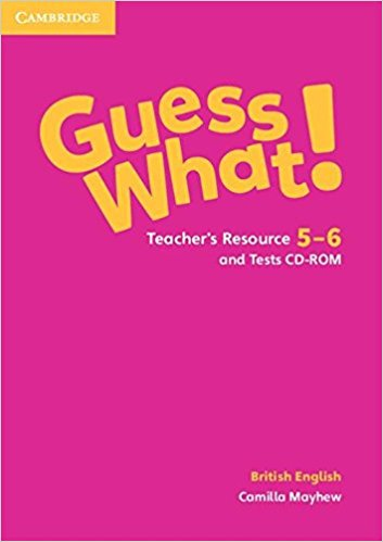 Guess What! 5-6 Teacher's Resource with Test CD-ROM team up starter 1 test resource audio cd test maker cd rom