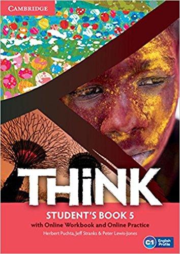 Think 5: Student's Book with Online Workbook and Online Practice online interactive language utilities