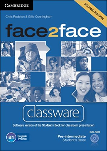 Face2Face 2 Edition Pre-intermediate Classware DVD-ROM murphy r essential grammar in use 3rd edition classware for elementary students of english dvd rom