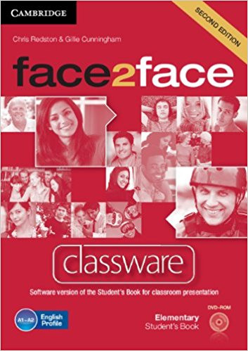 Face2Face 2 Edition Elementary Classware DVD-ROM murphy r essential grammar in use 3rd edition classware for elementary students of english dvd rom