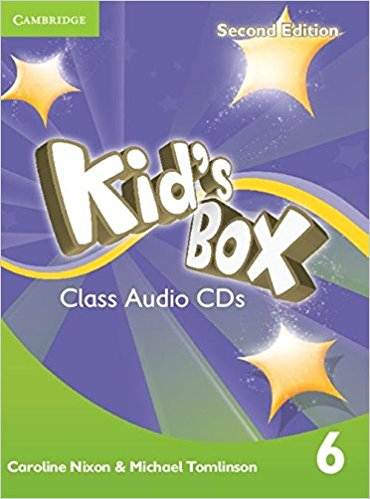 Kid's Box 2 Edition 6 Class Audio CDs cambridge young learners english tests flyers 4 student s book