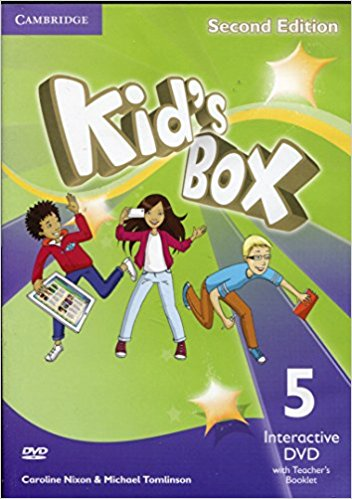 Kid's Box 2 Edition 5 Interactive DVD (NTSC) with Teacher's Booklet touchstone teacher s edition 4 with audio cd