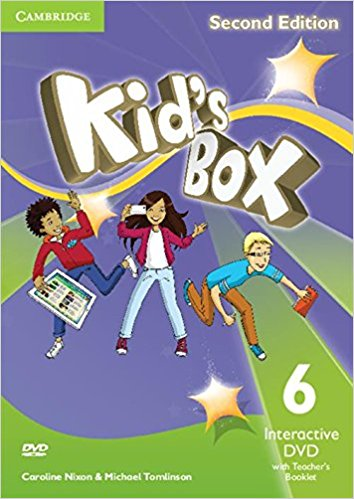 Kid's Box 2 Edition 6 Interactive DVD (NTSC) with Teacher's Booklet touchstone teacher s edition 4 with audio cd