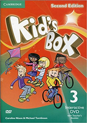 Kid's Box 2 Edition 3 Interactive DVD (NTSC) with Teacher's Booklet touchstone teacher s edition 4 with audio cd