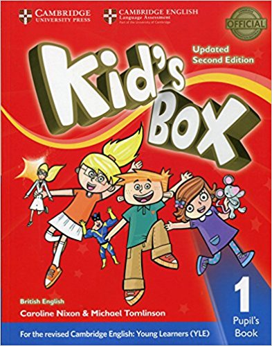 Kid's Box Updated 2 Edition Pupil's Book 1