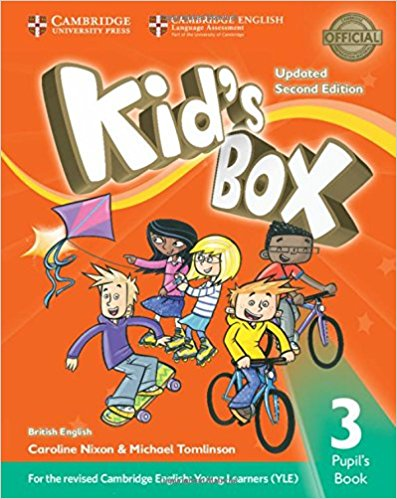 Kid's Box 3: Pupil's Book driscoll l cambridge english skills real reading 3 with answers