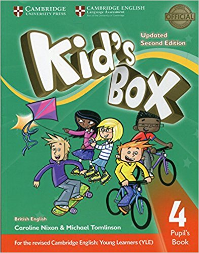 Kid's Box: Level 4: Pupil's Book British English hewings martin thaine craig cambridge academic english advanced students book