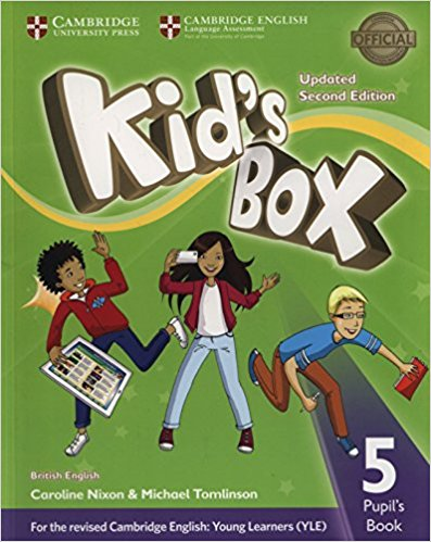 Kid's Box Updated 2 Edition Pupil's Book 5