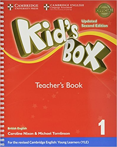 Kid's Box Level 1: Teacher's Book cambridge young learners english tests flyers 4 student s book