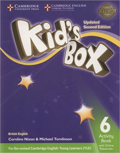 Kid's Box 6: Activity Book with Online Resource cambridge young learners english tests flyers 4 student s book
