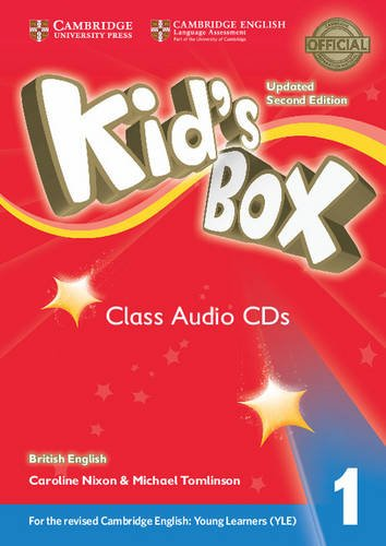 Kid's Box Level 1 Class British English 4 Audio CDs cambridge young learners english tests flyers 4 student s book