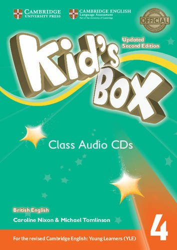 Kid's Box Updated 2 Edition Audio CD 4 cambridge young learners english tests flyers 4 student s book