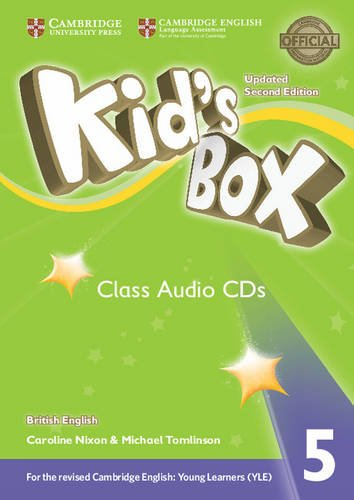 Kid's Box Updated 2 Edition  Audio CD 5 evans v new round up 5 teacher's book грамматика английского языка russian edition with audio cd 2 edition