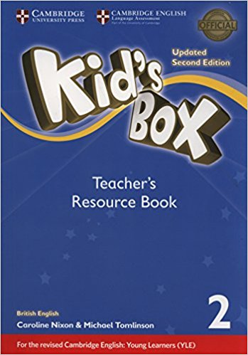 Kid's Box Updated 2 Edition Teacher's Resource Book 2 with Online Audio hewings martin thaine craig cambridge academic english advanced students book