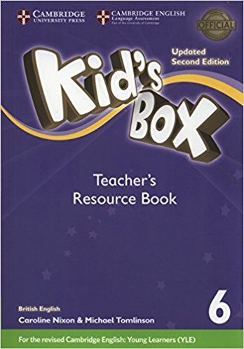Kid's Box Updated 2 Edition Teacher's Resource Book 6 with Online Audio cambridge english teachers book 4 й уровень
