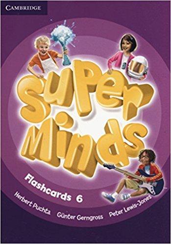 Super Minds Flashcards 6 super minds level 6 workbook with online resources