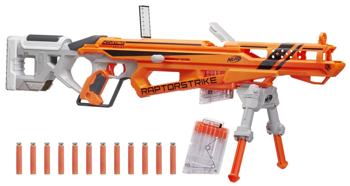 Nerf Бластер Raptostrike - Игрушечное оружие
