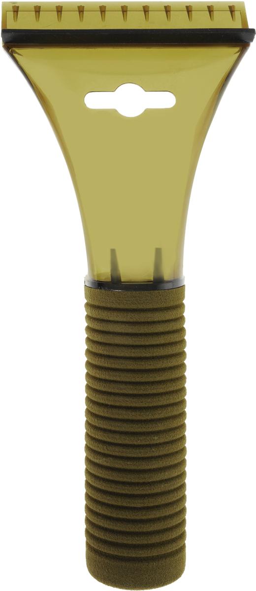 Скребок для льда Sapfire, с водосгоном, цвет: оливковый, 21 смSF-0577_оливковыйСкребок Sapfire предназначен для удаления льда. Скребок имеет мощную рукоятку из морозостойкого пластика с утепленной насадкой. Для наиболее удобной работы оснащен водосгоном.Длина скребка: 21 см. Размер рабочей части: 9 см.