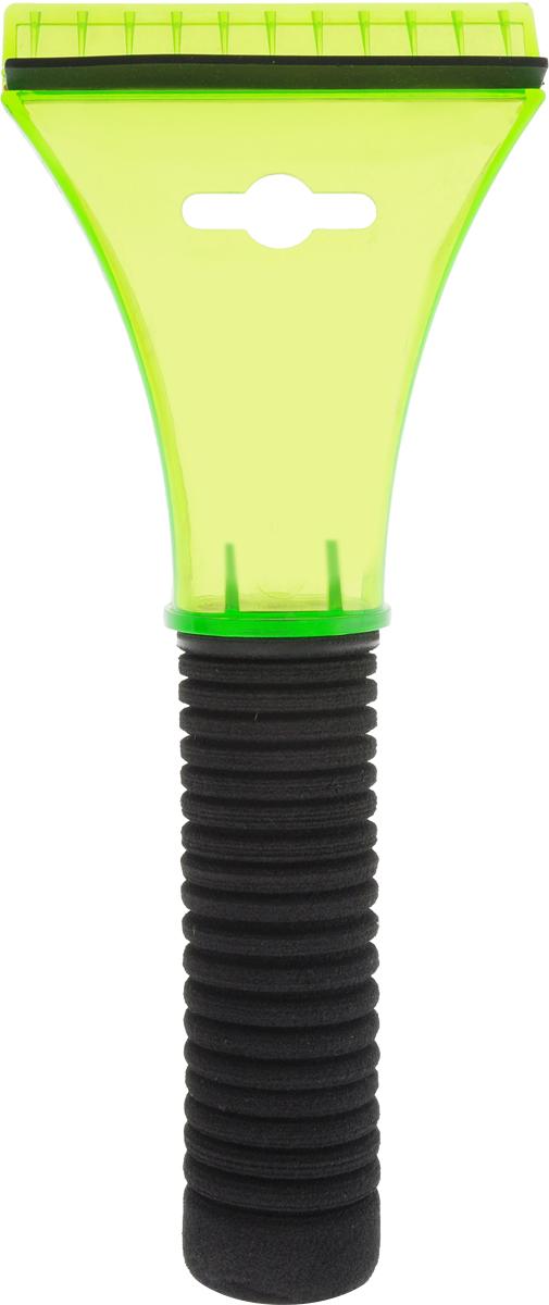 Скребок для льда Sapfire, с водосгоном, цвет: салатовый, черный, 21 смSF-0577_салатовый, черныйСкребок Sapfire предназначен для удаления льда. Скребок имеет мощную рукоятку из морозостойкого пластика с утепленной насадкой. Для наиболее удобной работы оснащен водосгоном.Длина скребка: 21 см. Размер рабочей части: 9 см.