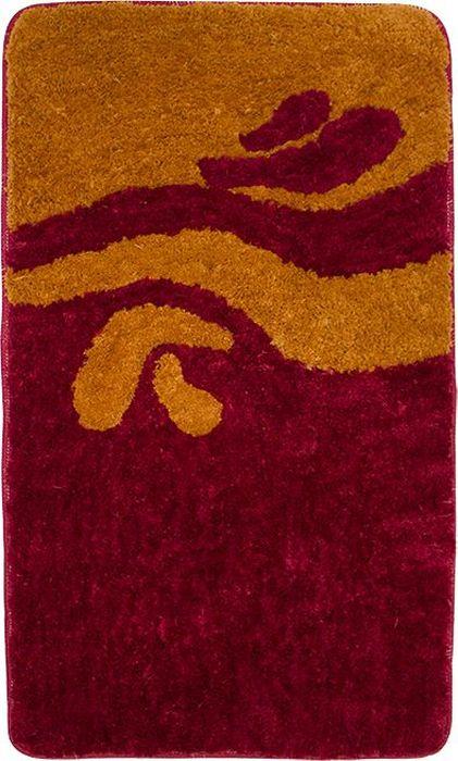 Комплект ковриков для ванной Dasch Симона, цвет: терракотовый, 2 предмета коврик для ванной dasch джулия