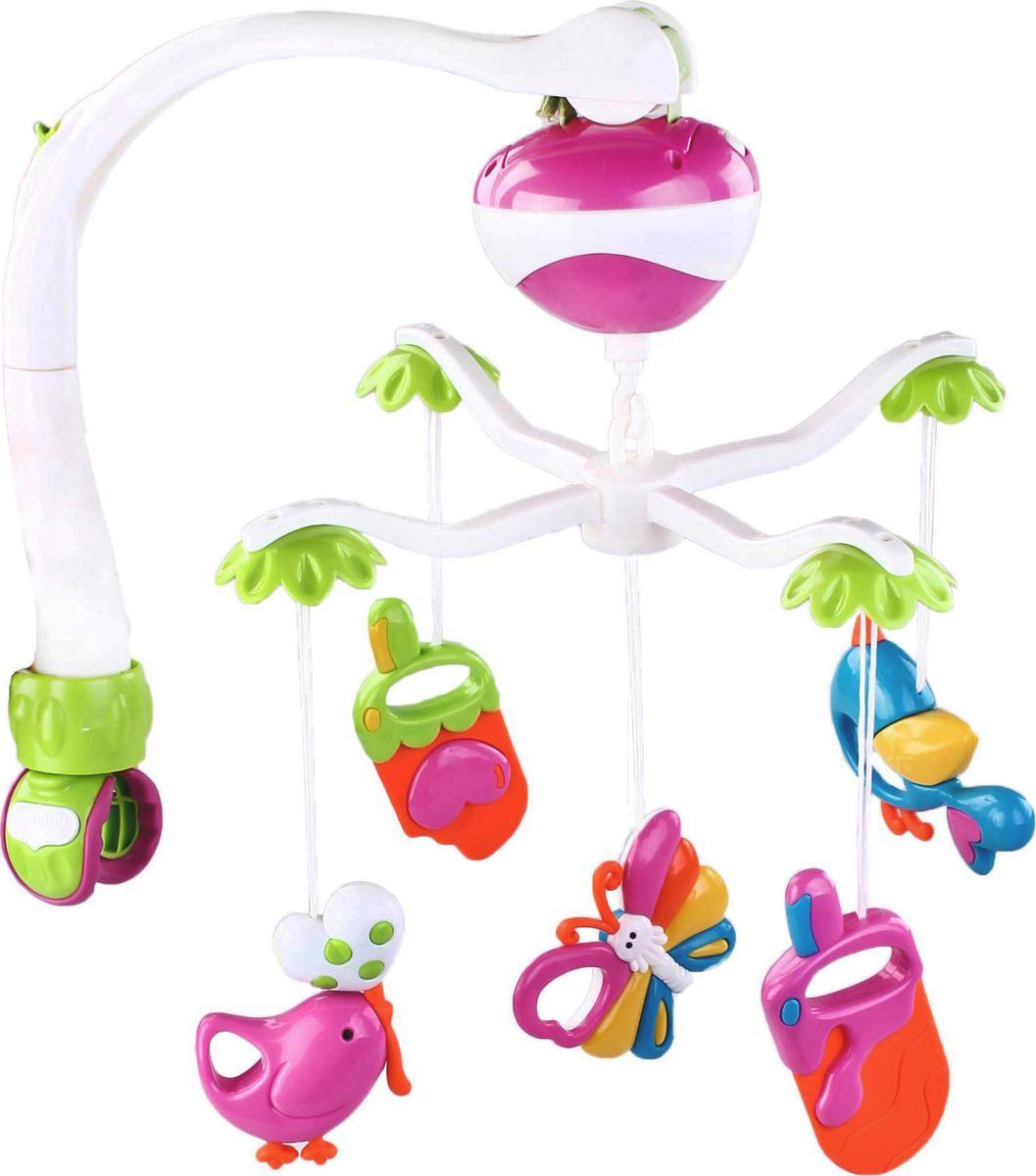 Жирафики Мобиль музыкальный Забавы - Игрушки для малышей