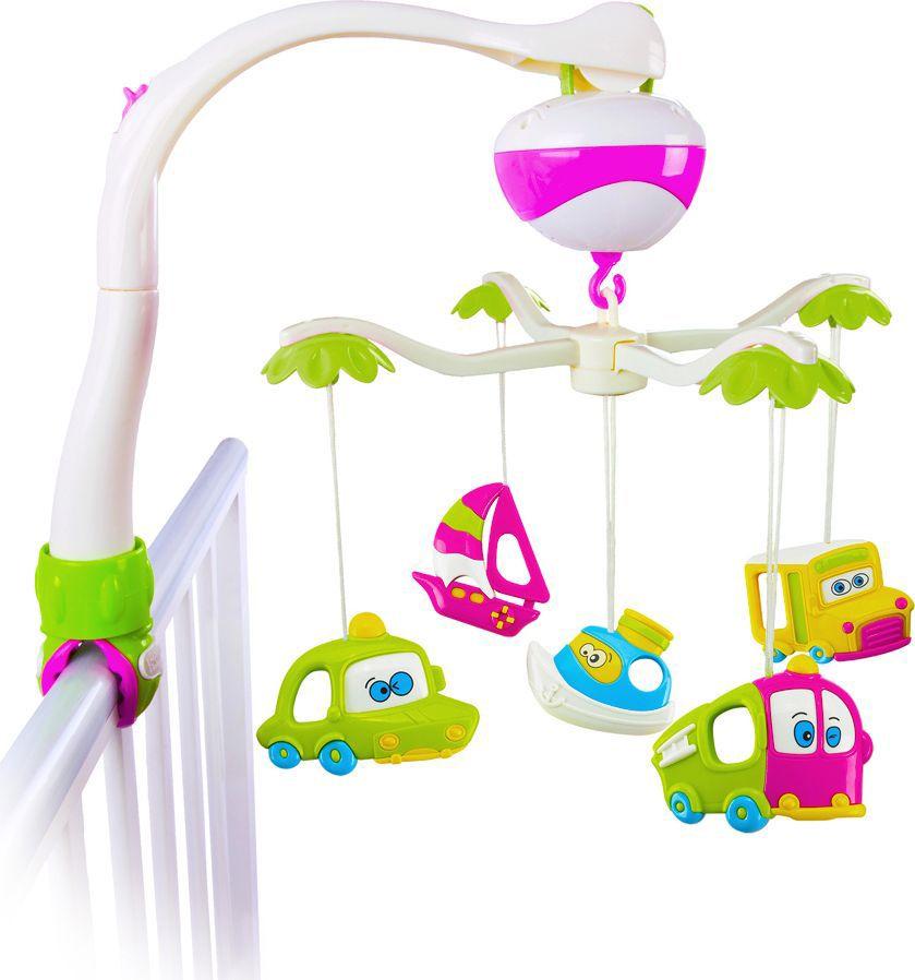 Жирафики Мобиль музыкальный Тачки - Игрушки для малышей