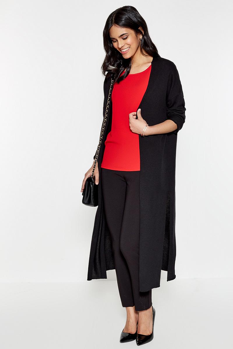 Брюки женские Concept Club Abigail1, цвет: черный. 10200160218. Размер XS (42)10200160218Классические брюки от Concept Club облегающего кроя выполнены из плотной эластичной ткани. Модель с застежкой на молнию сбоку и ложными прорезными карманами сзади.