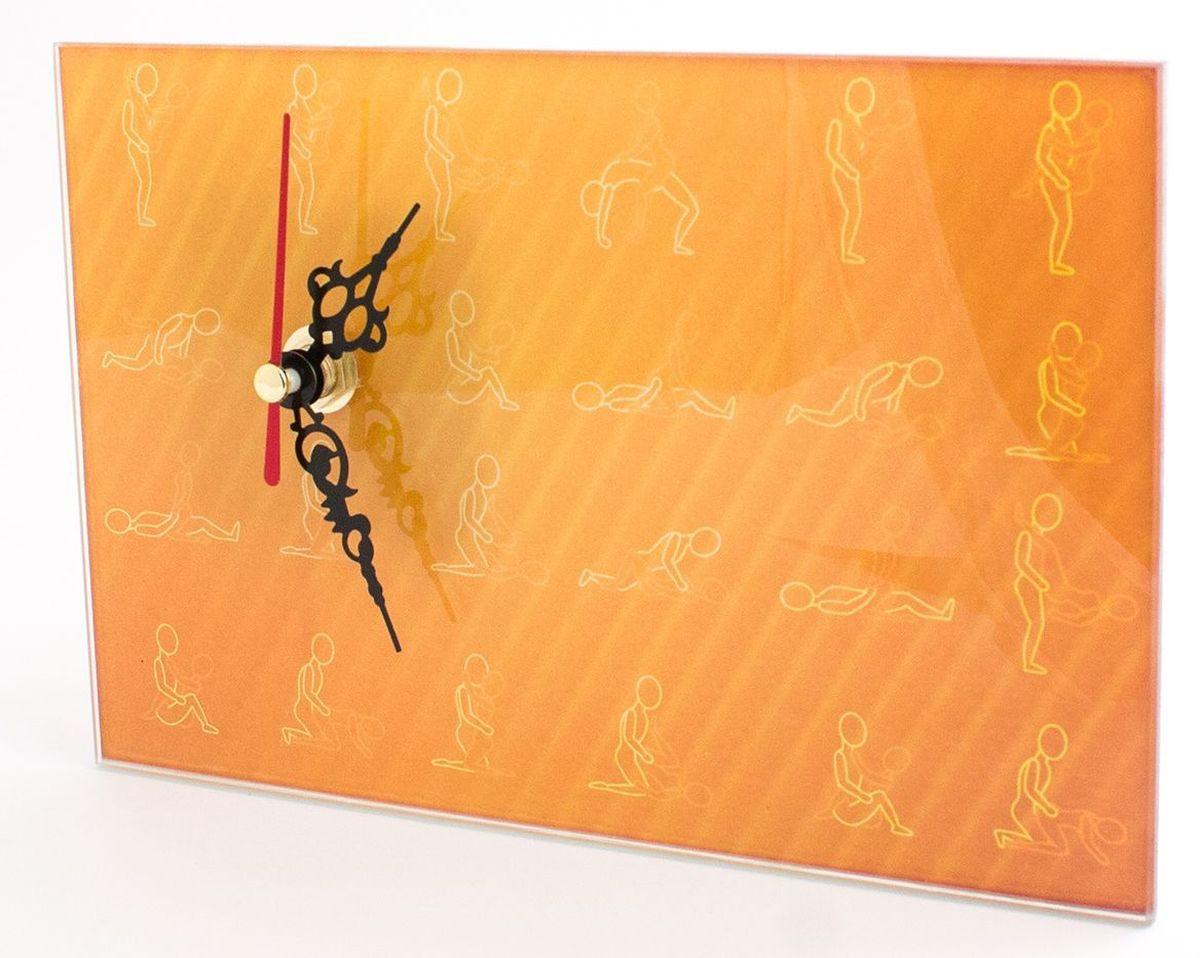 Часы настольные Эврика Камасутра98093Оригинальные часы Эврика Камасутра прямоугольной формы выполнены из стекла, с механизмом бесшумного хода. Часы имеют три стрелки - часовую, минутную и секундную. Необычное дизайнерское решение и качество исполнения придутся по вкусу каждому.Часы работают от 1 батарейки типа АА напряжением 1,5 В.