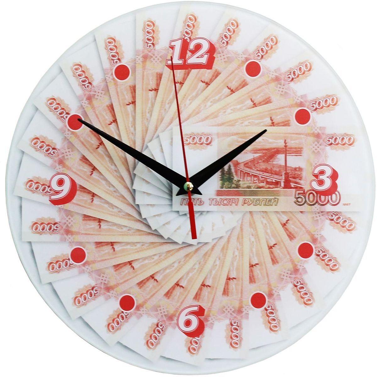 Часы настенные Эврика