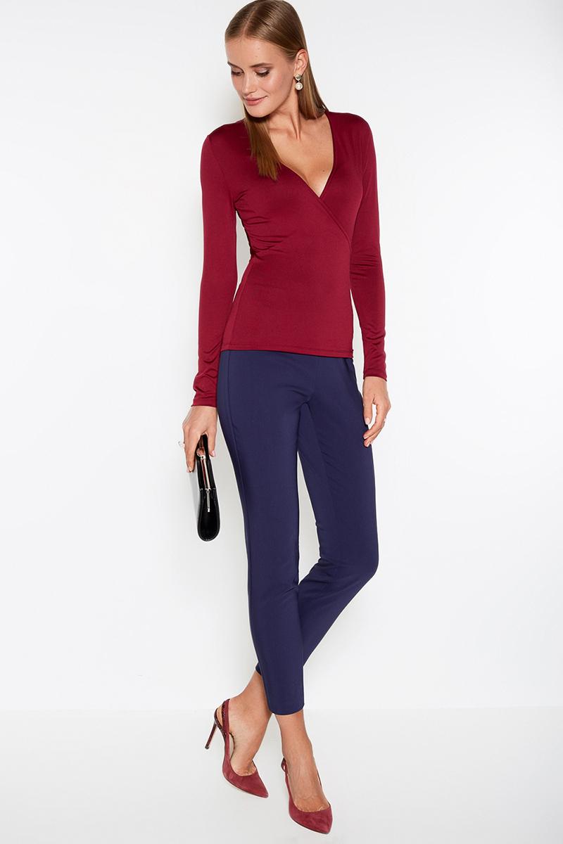 Джемпер женский Concept Club Tora, цвет: бордовый. 10200100134. Размер M (46) юбка concept club vanya цвет черный 10200180223 100 размер m 46