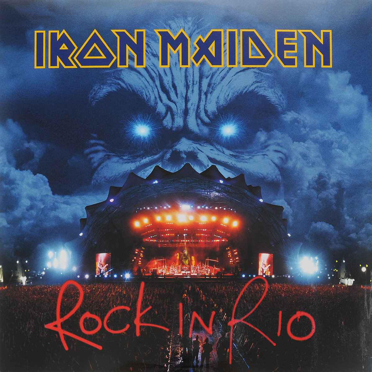 Iron Maiden Iron Maiden. Rock In Rio (3 LP) iron maiden iron maiden rock in rio 3 lp 180 gr