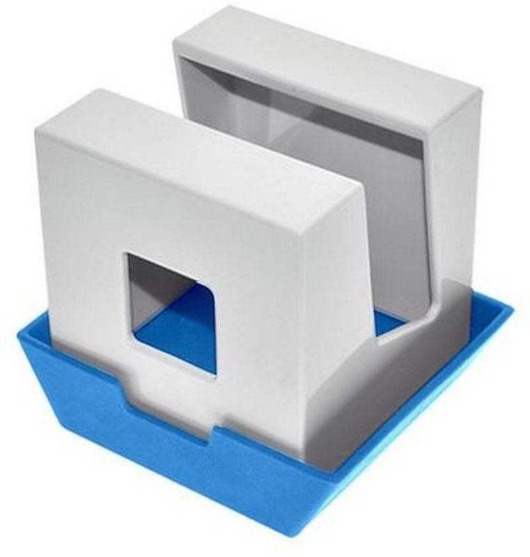 Подставка под крышку и лопатки Мультидом, цвет: белый, голубойJ80-175Подставка Мультидом удивит вас своей многофункциональностью! Этот стильный аксессуар для кухни украсит ваш интерьер и порадует многообразием решений для использования. Она может использоваться как подставка для инструментов при приготовлении пищи... одно движение и это подставка для крышки! Вы можете располагать на ней все, что вам хочется: будь то палочки для еды, книга с рецептами, половник или специи - достаточно перевернуть подставку или поменять расположение крышки.Изготовлено из пластика-ABS, крышка из термопластичного эластомера (TPE).