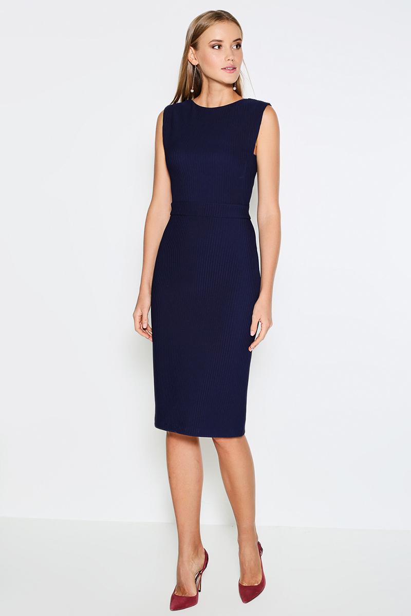Платье Concept Club Rely, цвет: темно-синий. 10200200342. Размер M (46) юбка concept club vanya цвет черный 10200180223 100 размер m 46