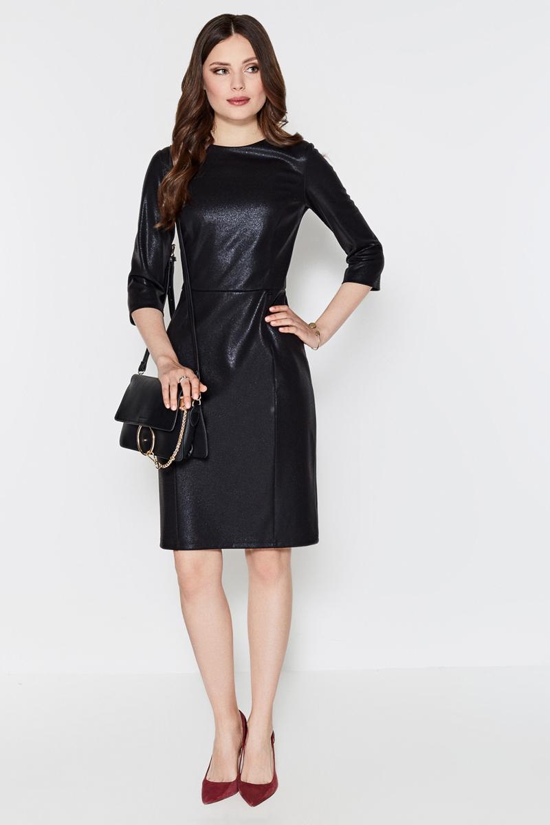 Платье Concept Club Shony, цвет: черный. 10200200343. Размер M (46) платье женское concept club basy цвет черный 10200200341 размер m 46