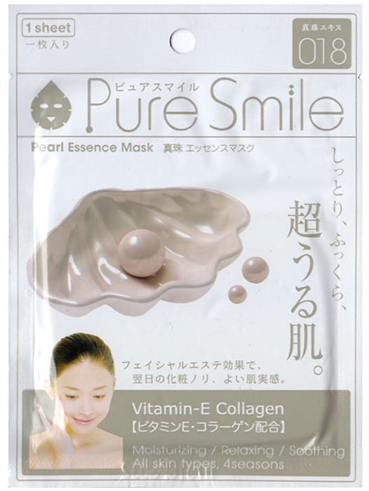 Pure Smile Essence Mask Регенерирующая маска для лица с эссенцией жемчуга, 23 мл000150Еженедельный уход - это неотъемлемая процедура для полноценного ухода за кожей лица. Необходимо каждую неделю использовать различные маски. Преимущество нужно отдать увлажняющим, питательным, и маскам для повышения упругости кожи. Все эти функции вы найдете в линии Pure Smile. Эти маски настоящие волшебные палочки, способные моментально преобразить вашу кожу. Ведь сыворотка, которая используется для пропитки маски, имеет тройную концентрацию активных компонентов. За короткое время воздействия, маска отдает всю силу полезных ингредиентов вашей коже. Коллаген в составе сыворотки наполняет кожу влагой, восстанавливает плотность и упругость кожи. Эссенция жемчуга регулирует водный баланс кожи, выравнивает цвет лица, восстанавливает минеральный баланс кожи. Жемчужная эссенция оказывает противовоспалительное действие, стимулирует регенерацию клеток и защитные функции кожи.