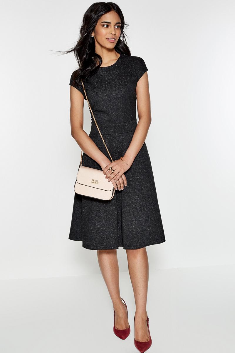Платье Concept Club Tiu, цвет: черный. 10200200336. Размер M (46) платье женское concept club basy цвет черный 10200200341 размер m 46