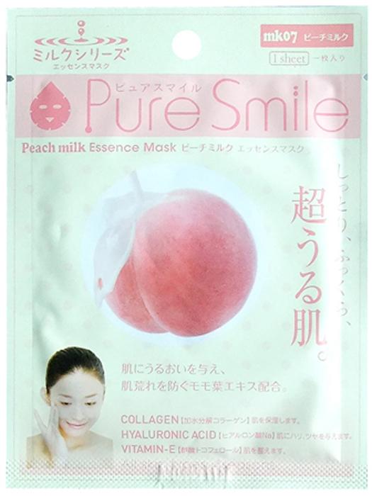 Pure Smile Milk Mask Молочная увлажняющая маска для лица с экстрактом листьев персика, 23 мл018353Еженедельный уход - это неотъемлемая процедура для полноценного ухода за кожей лица. Необходимо каждую неделю использовать различные маски. Преимущество нужно отдать увлажняющим, питательным, и маскам для повышения упругости кожи. Все эти функции вы найдете в линии Pure Smile. Эти маски настоящие волшебные палочки, способные моментально преобразить вашу кожу. Ведь сыворотка, которая используется для пропитки маски, имеет тройную концентрацию активных компонентов. За короткое время воздействия, маска отдает всю силу полезных ингредиентов вашей коже. Коллаген в составе сыворотки наполняет кожу влагой, восстанавливает плотность и упругость кожи. Экстракт молочного белка, восстанавливает гидролипидную пленку, создает защитную сеточку, которая препятствует потере влаги с поверхности кожи. Эссенция из листьев персика окажет противовоспалительное, увлажняющее и защитное действие для нежной кожи.