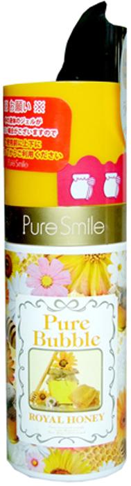 Pure Smile Pure Bubble Очищающая пенная маска для лица на основе углекислого газа, с маточным молочком пчел, 50 мл026464Невероятная текстура этой маски усладит Вашу кожу! Изысканная сыворотка сразу же после нанесения превращается в пушистую пенку, которая открывает поры и освобождает их от загрязнений, следом насыщает клетки кислородом. Маска за считанные секунды преобразит Вашу кожу, мягко удалит ороговевшие клеточки, осветлит тон, насытит влагой глубокие слои кожи, подтянет, вернет коже тонус и сияние. Маточное молочко пчел, является мощнейшим антиоксидантом и стимулятором клеточного обмена, разглаживает морщинки и предотвращает образование новых.
