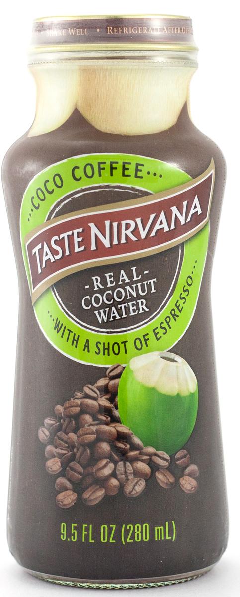 Taste nirvana Real Coconut Water напиток с эспрессо-шот, 0,28 л nirvana nevermind купить винил