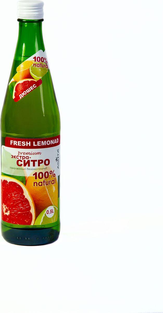 Chiko Choko Лимонад Экстра-Ситро, 0,5 лЕС05Газированный напиток со вкусом ситро.