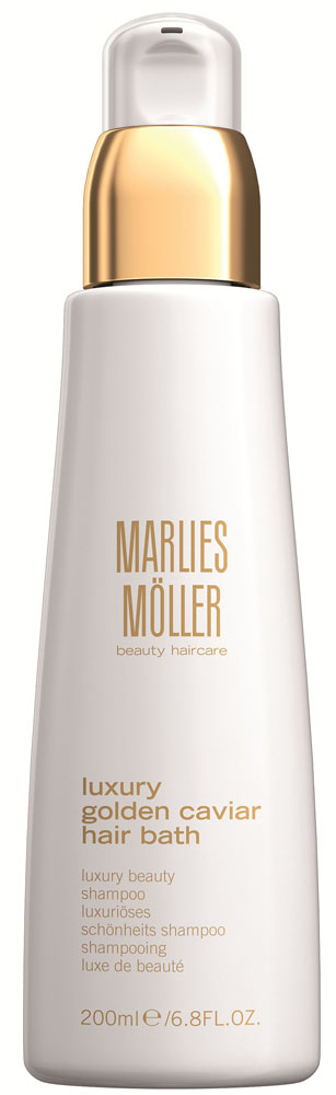 Marlies Moller Luxury Golden Caviar Шампунь для волос Жидкое золото, 200 мл ампулы marlies moller specialist revital density haircure 6 мл